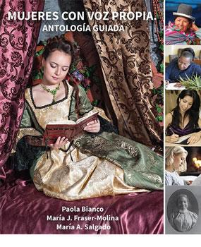 mujeres con voz propia antologia guiada book cover - Titles